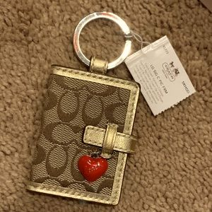 Coach Picture Frame Keychain